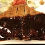 鳥礼 - 料理写真:味噌カツ