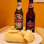 カレーハウス - Kingfisher(インディアンビール)&Nepal Ice(ネパールビール)