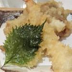 石臼挽き蕎麦 あずみ野 - 天ぷら