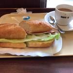 ドトールコーヒーショップ - 料理写真:ミラノサンドA