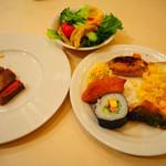 軽井沢倶楽部 ホテル軽井沢1130 - 2019/1/5 から一泊 ディナーの様子。