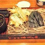 そば茶屋 吹上庵 - 料理写真:天ぷら板蕎麦 880円