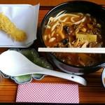 元祖紅花そば 綾波 - 料理写真:海軍カレーうどん