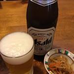 むぎきり - 瓶ビール