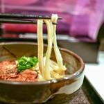うだま - 料理写真:麺はコシがあります!