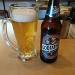 カフェと印度家庭料理 レカ - インドビール「GODFATHER」
