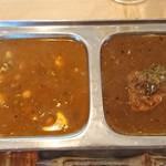 カフェと印度家庭料理 レカ - マメカレー、魚カレー