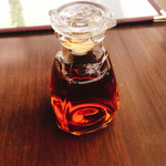 茶花 - あんかけ焼きそばの黒酢