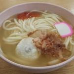 まるいち - 料理写真:讃岐あん餅うどん(中)