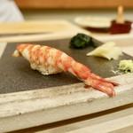 99957422 - [2018/12]寿司③ くるまえびの握り