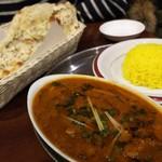 インドアジアン レストラン&バー ビンティ - 賄いcurryはキーマベースのseafood。ンマーッッ‼️