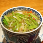高太郎 - 白子と芹の茶碗蒸し