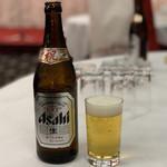 中国料理 大成閣 - 乾杯は祝印のアサヒスーパードライ