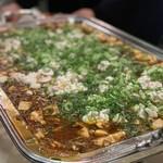 中国料理 大成閣 - 黒豆鼓麻婆豆腐白子入り