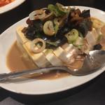 上海酒場 - ピータン豆腐
