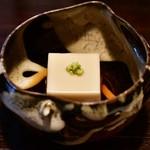 山の茶屋 - 【ランチ 9,000円コース】胡麻豆腐