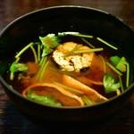 山の茶屋 - 【ランチ 9,000円コース】赤出汁