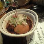 Wagogorokabutoya - 味噌おでん♪一個120円(携帯撮影)
