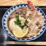 99970106 - 炙り牛トンぶっかけ(麺増量)