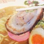 和歌山家 - 肉厚の炙り叉焼が香ばしい