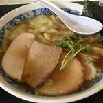 中華そば いがらし - ワンタン麵