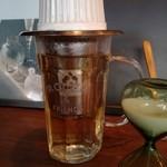 """99971327 - """"旅する""""紅茶「タカツキ」。グラスでたっぷり"""