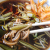 じゅんさいの館 - 料理写真:じゅんさい天ぷらそば
