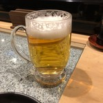 玄海肴処旬風 - 生ビール