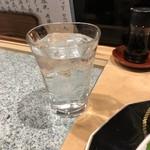 玄海肴処旬風 - おおち白米水割り