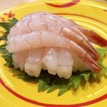 スシロー - 甘えびてんこ盛り108円