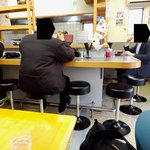 安さん食堂 - カウンター席