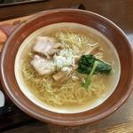 お食事処 市玄 - あさっぱラーメンとお寿司(5貫)のセット