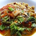 玄米かりぃオーガニック米野 - ドライカリーのハーフ&ハーフ