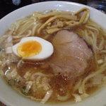 らーめん 日吉 - 太麺@700円