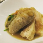 La muto PIZZA&TRATTORIA - 豚バラ肉とサルシッチャの煮込み