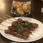 福満苑 鼓楼 - 羊肉の串焼き