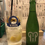 やきとん 丈屋 - 「シャリキンレモン」430円