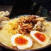 味噌屋麺四朗 - 料理写真:江戸前味噌肉ネギ+チャーシュー+味玉
