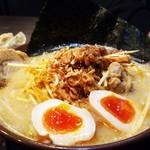 味噌屋麺四朗 - 江戸前味噌肉ネギ+チャーシュー+味玉