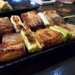 味噌屋麺四朗 - 豚串