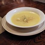 ステーキハウス チャコオキナワ - スープ