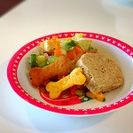 ポケット - 〈わんこ用〉自家製鶏ムネ肉と野菜のゼリー寄せ(Sサイズ)