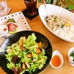 真清水Cafe - ランチコース