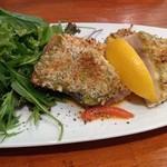 チャコール クッキング ツクバ マイス - 太平洋メカジキ グリーンマスタード風味のパン粉焼き