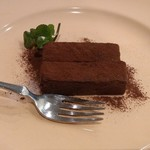 チャコール クッキング ツクバ マイス - チョコのデザート
