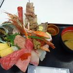 野口鮮魚店 - 朝一築地丼
