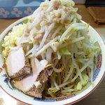 らー麺 シャカリキ - シャカ豚(700円)野菜ニンニクまし