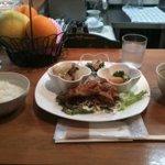 ティータイム - tea time・本日のランチ¥900