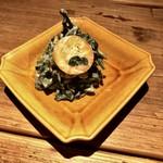 酒井商会 - 春菊と金柑の白和え