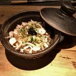 酒井商会 - 蛸と生海苔の土鍋ご飯